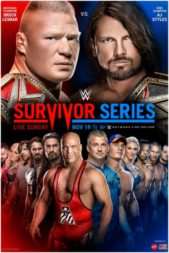 Poster of WWE Survivor Series 2017