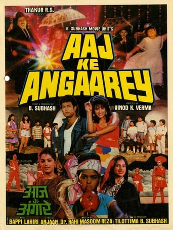 Poster of Aaj Ke Angaarey