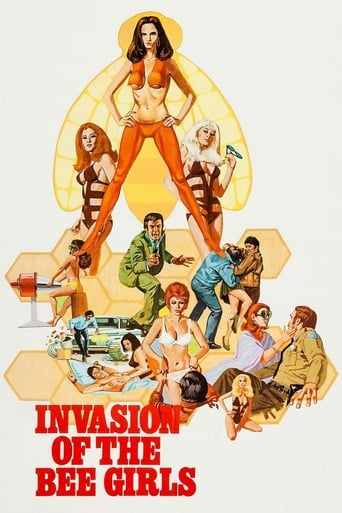 Poster of Invasion of the Bee Girls