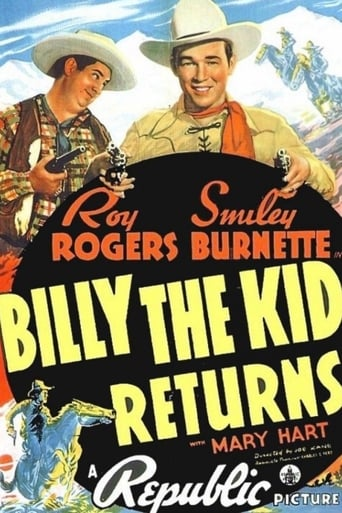 poster of Billy The Kid Returns