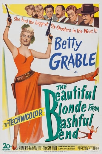 Poster of The Beautiful Blonde from Bashful Bend