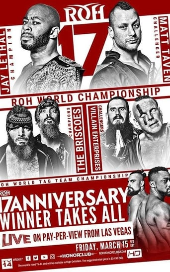 Poster of ROH 17th Anniversary Show