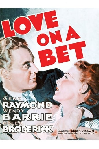 Poster of Love on a Bet
