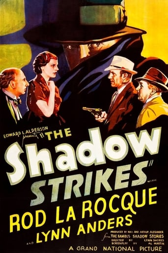 Poster of The Shadow Strikes