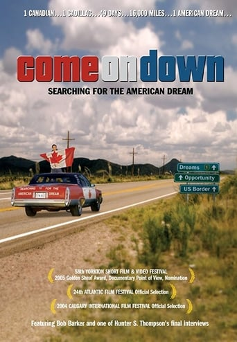 Poster of Come on Down: Searching for the American Dream