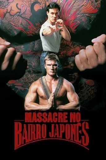 Massacre no Bairro Japonês - Poster