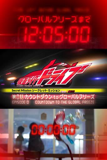 Kamen Rider Drive: Type ZERO Episode 0 - Countdown to Global Freeze Movie Poster