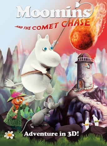 Poster of Moomins and the Comet Chase