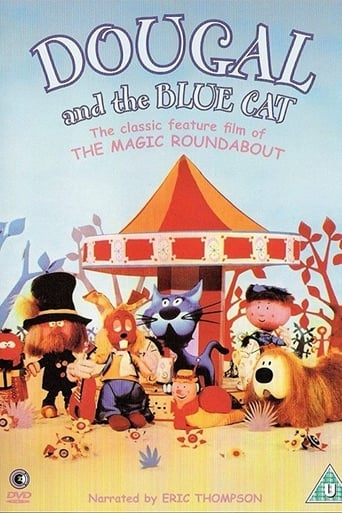 Poster of Dougal and the Blue Cat