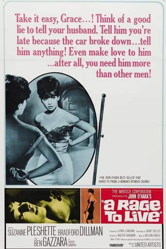 Poster of A Rage to Live