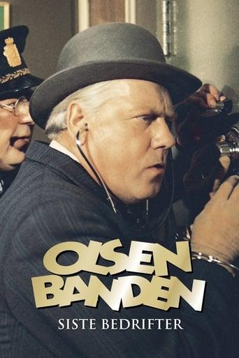 Poster of Olsenbandens siste bedrifter