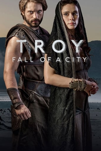 Troy Fall of a City 1ª Temporada - Poster