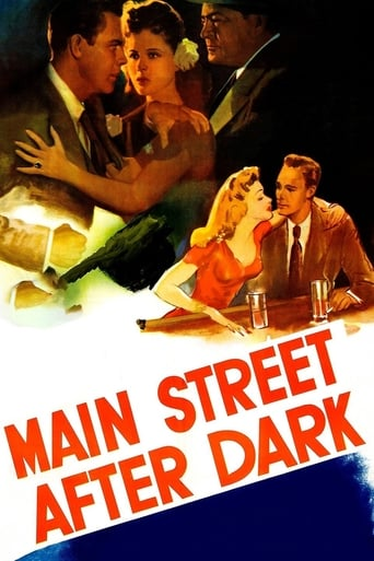 Poster of Main Street After Dark