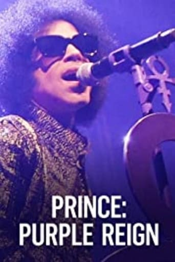 Poster of Prince: A Purple Reign