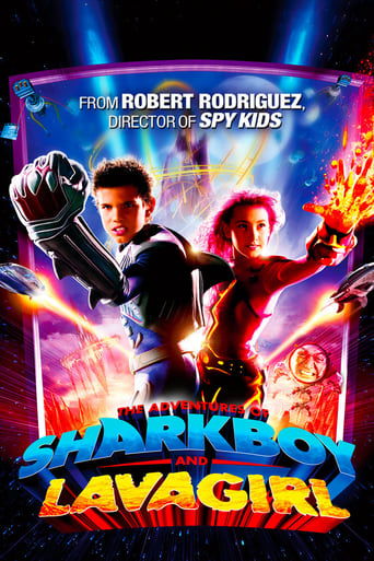 Poster of The Adventures of Sharkboy and Lavagirl
