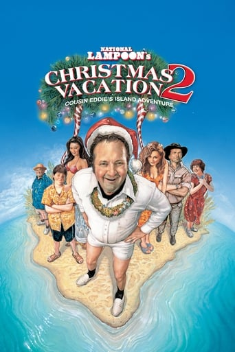 Poster of Christmas Vacation 2: Cousin Eddie's Island Adventure
