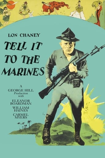 Poster of Tell It to the Marines