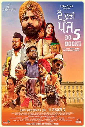 Poster of Do Dooni Panj