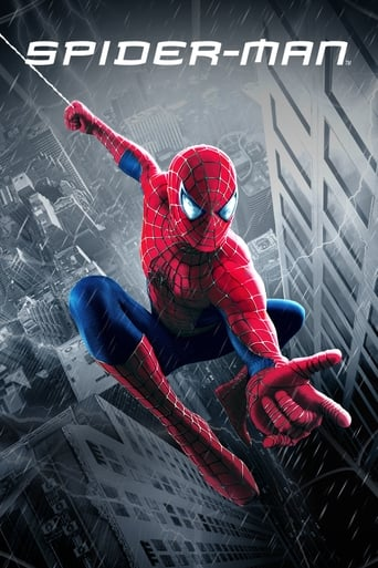 Official movie poster for Spider-Man (2002)