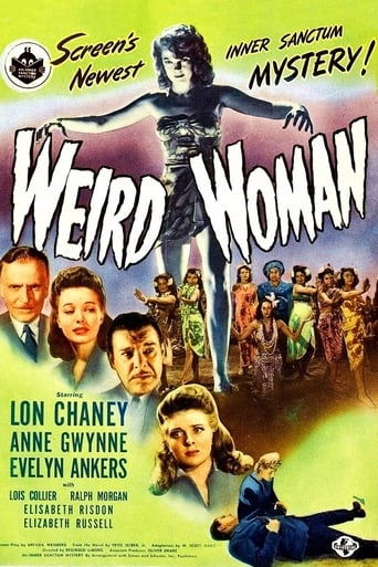 Poster of Weird Woman