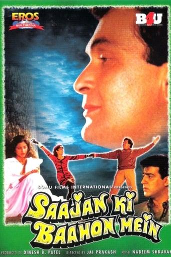 Poster of Saajan Ki Baahon Mein