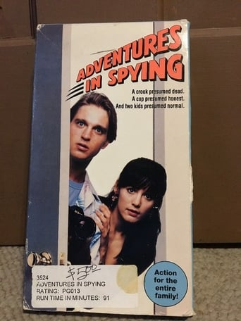 Poster of Adventures in Spying