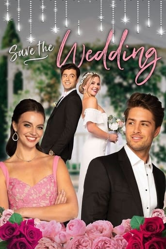 Save the Wedding Poster