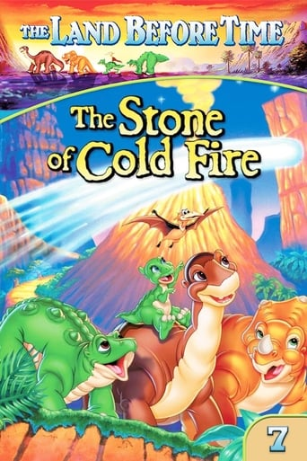Poster of The Land Before Time VII: The Stone of Cold Fire