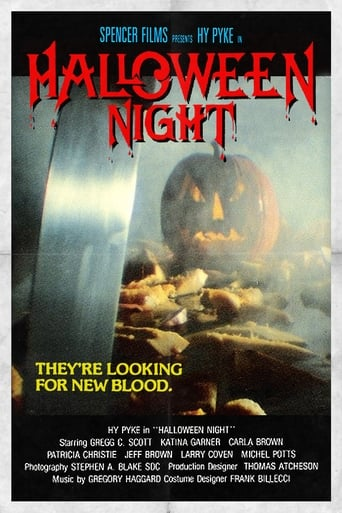 Poster of Halloween Night