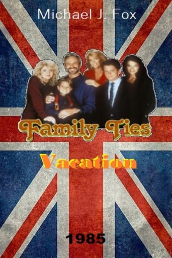 Poster of Family Ties Vacation
