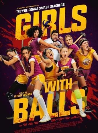 Lányok labdákkal