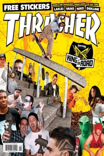 Poster of Thrasher - King of the Road 2011