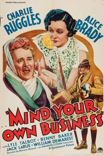 Poster of Mind Your Own Business