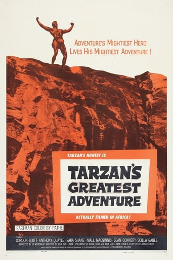 Poster of Tarzan's Greatest Adventure