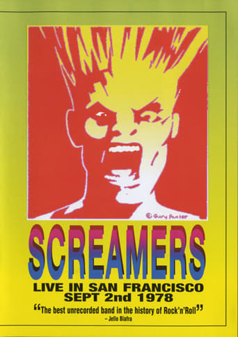 Poster of Screamers – Live In San Francisco: Sept 2nd 1978
