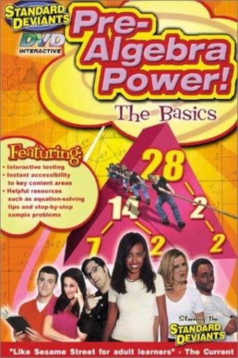 The Standard Deviants: Pre-Algebra Power