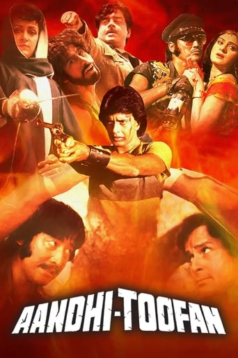 Poster of Aandhi-Toofan