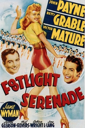 Poster of Footlight Serenade