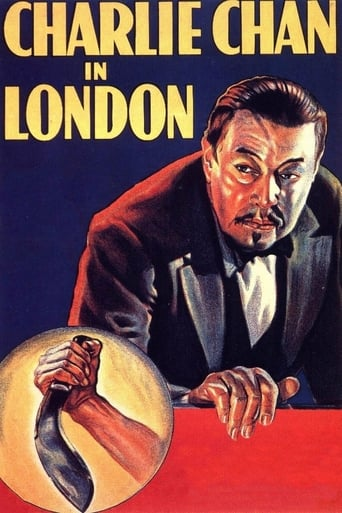 Poster of Charlie Chan in London