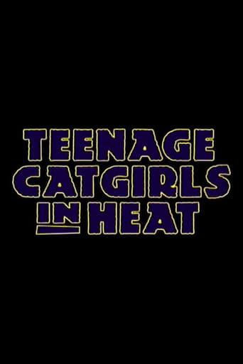 Poster of Teenage Catgirls In Heat