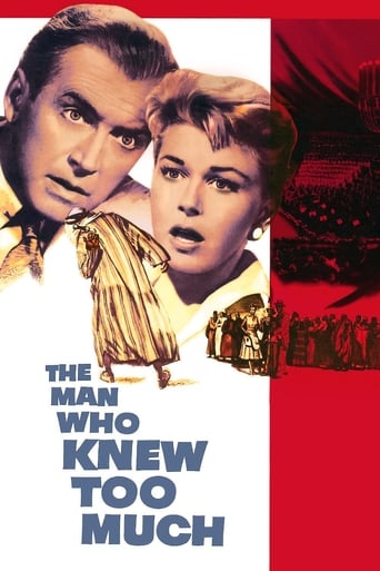 Poster The Man Who Knew Too Much