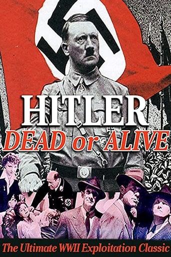 Poster of Hitler- Dead or Alive