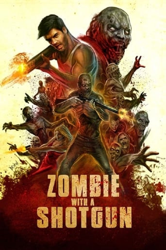 Poster Zombie with a Shotgun