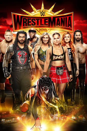 Poster of WWE WrestleMania 35