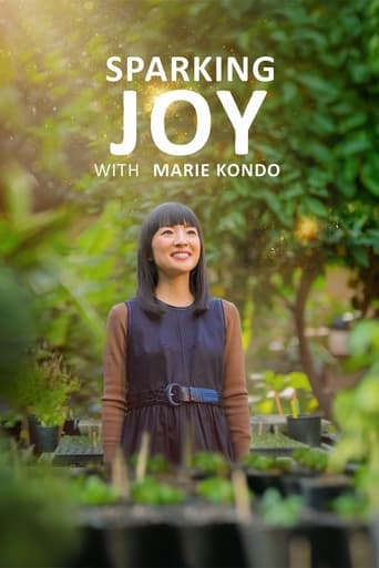 Poster Sparking Joy with Marie Kondo