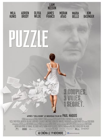 Poster of Puzzle for a Blind Man