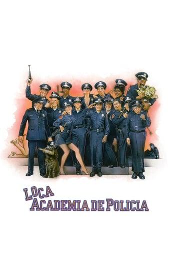 Poster of Loca academia de policía