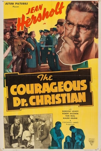 Poster of The Courageous Dr. Christian