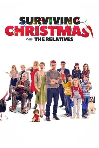 Poster of Surviving Christmas with the Relatives