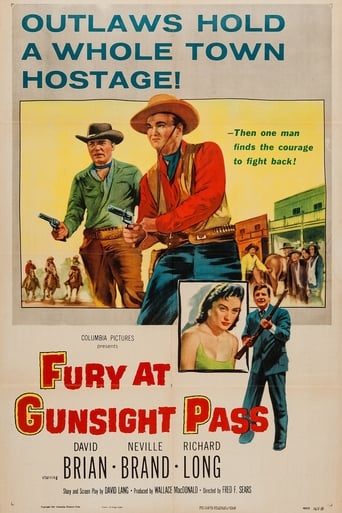 Poster of Fury at Gunsight Pass